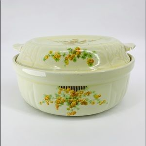 Vintage Kitchen - Vintage MCM Hall's Kitchenware Casserole Dish